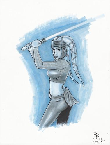aayla secura sketch