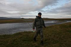Degi farið að halla (Dr hoddsson) Tags: nature iceland fishing flyfishing trout fishingfly articchar víðidalsá