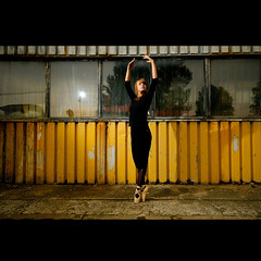 we are the people. (Marcin Sowa) Tags: lighting windows light ballet woman art girl dance nikon ballerina flash sigma dancer f10 flashlight 1020mm emotions krakw cracow cls balet d300 iso500 krakoff strobist strobists caraco sb900 danceproject caracoemotions
