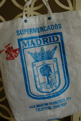 Ecobag brinde - Supermercados Madrid