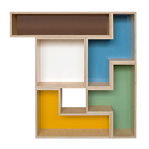 Modular Tetris Shelves