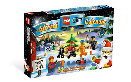 7687 City Advent Calendar 2009