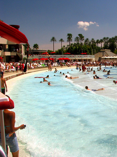 Wave Pool at Mandalay Bay