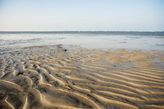 (Alex !) Tags: blue sea sky beach nature strand sand waves ripple highcontrast 123 ripples meeuwen 123nature snaptweet