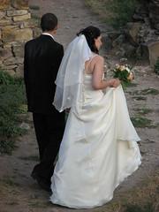 Cetatea Sucevei (bortescristian) Tags: wedding sunset de bride dress mire apus nunta soare suceava mireasa
