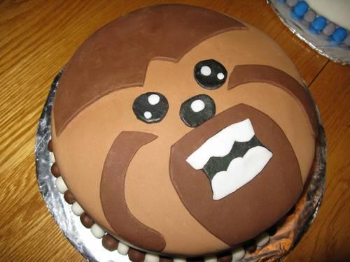 Tarta Chewbacca