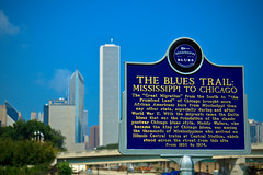 The Blues Trail (justingreen19) Tags: world 2 music usa chicago classic america canon mississippi war state african south blues style delta ii africanamericans americans waters migration muddywaters muddy centralstation 1893 lightroom migrants 50d chicago2016 mississippians 1974centraltrains