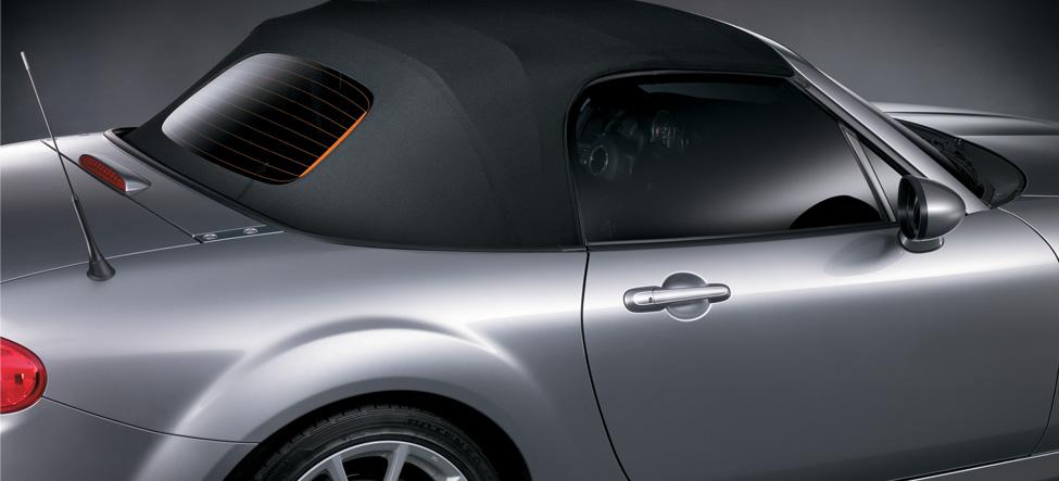 Aerodynamically designed Mazda MX-5 Miata