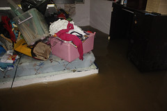 Flooded Master Bedroom