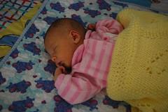 Sleeping in the Crib