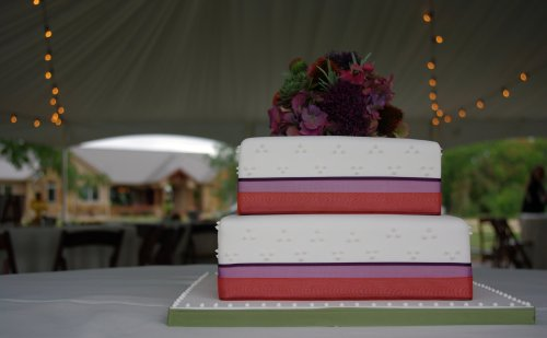 Natalie & James Wedding Cake