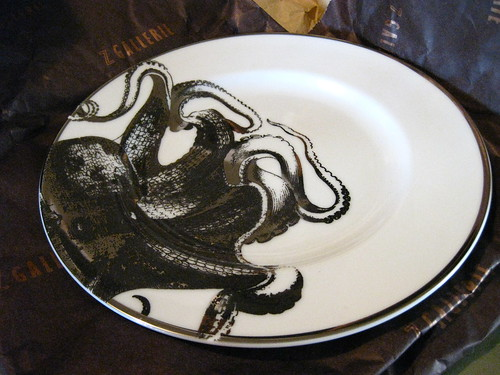 Octopus plate (by Anitza V)