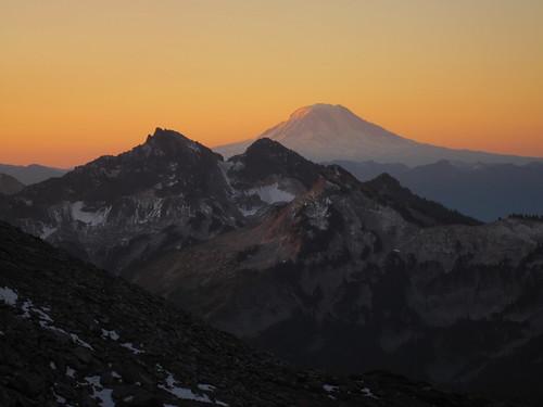 Mt Adams Alpenglow