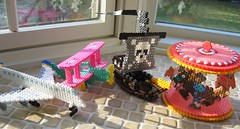 3-D Perler Bead Projects (Kid's Birthday Parties) Tags: airplane carousel biplane pirateship perlerbeads beadcraft perlerbeadproject 3dperlerbeadproject 3dperlerbeadprojects perlerbeadpirateship perlerbeadcarousel perlerbeadairplane perlerbeadbiplane 3dcraftproject perlerbeadcraft