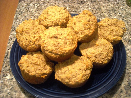 Banana-Walnut Breakfast Muffins