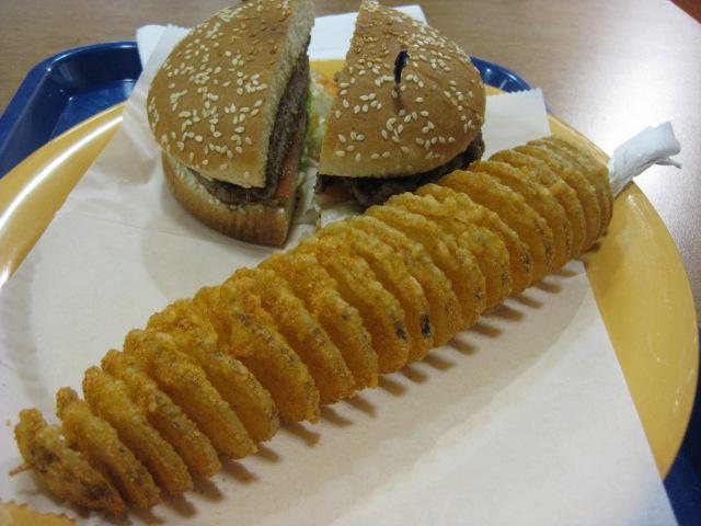 Korean burgers