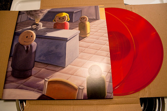Sunny Day Real Estate Diary Sub Pop 2009 re-issue | Red