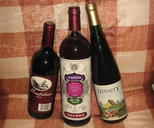 #3 - Three Bottles of Wine