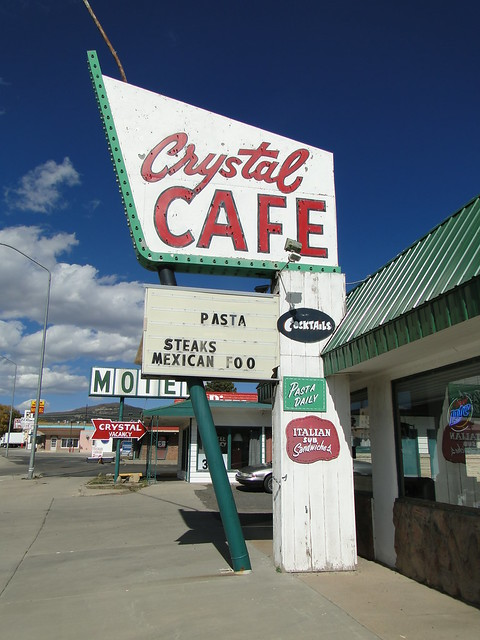 Crystal Cafe Sign | Flickr - Photo Sharing!