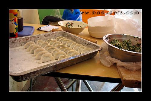 kutchay dumplings from Dong Bei