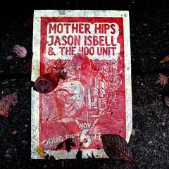 Poster on the sidewalk, Portland, Oregon, 8 Nov. 2009