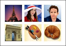 free Paris Beauty slot game symbols