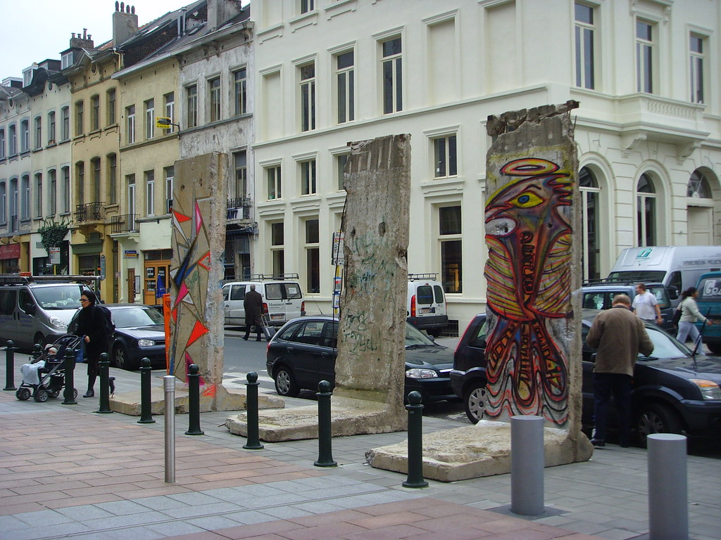 Segments of the Berlin Wall