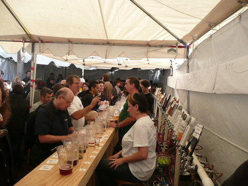 Over 65 Wood-Aged Beers were available, the most of any Bistro festival