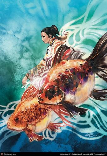 Goldenfish Neena by Rafi Adrian Zulkarnian