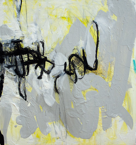 Untitled (yellow, gray, black)