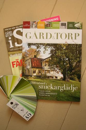 Tidning som erbjuder information, inspiration, tips och råd, kurser och produkter - allt för huset!