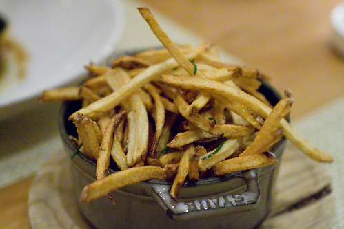Shoestring Fries with Truffle Salt