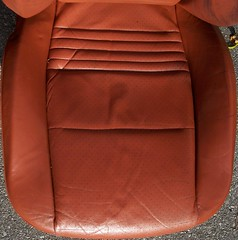 99PorscheCoupe4 (truckandcarseats) Tags: red leather 1999 porsche boxster coupe fronts