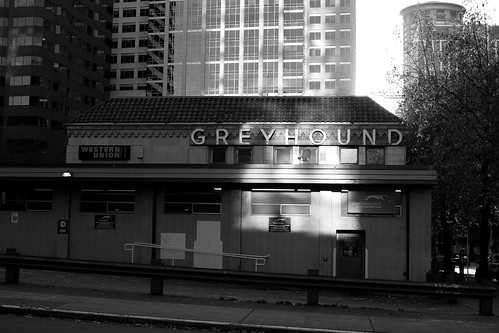Seattle Greyhound bus station
