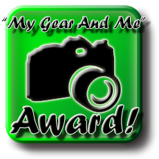 My Gear And Me Award
