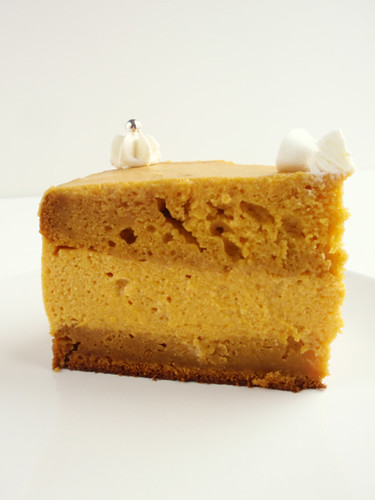 Pumpkin mousse cake