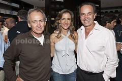 Adolfo Cambiaso, Regina Fernadez y Carlos Gracida