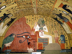 Tomb of Pashedu, Servant in the Place of Truth, Dayr al-Madina, reigns of Seti I and Ramesses II, 13th cent. BC (5) (Prof. Mortel) Tags: egypt luxor dayralmadina