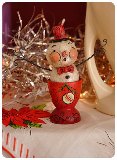 Snowman-egg-cup