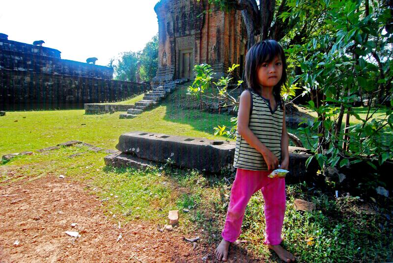 Little Lady at Pre Rup, Siem Reap