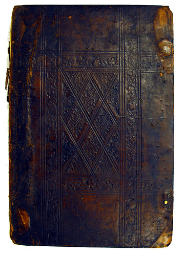 Front cover of binding for Odonis, Geraldus: Expositio in Aristotelis Ethicam