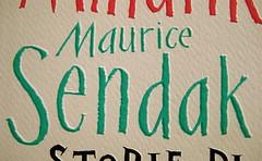 Else Holmelund Minarik, Maurice Sendak, Storie di orsacchiotto, ©BUR Ragazzi 2009; Lettering di Jeffrey Fisher, progetto grafico Mucca Design, copertina (part.) 2