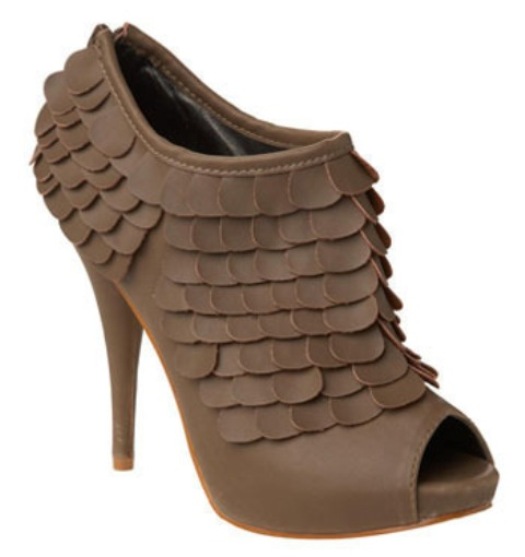 DIT idea leather scale heels 1