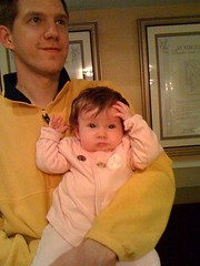 Mackenzie flaunting her new IAS Pin
