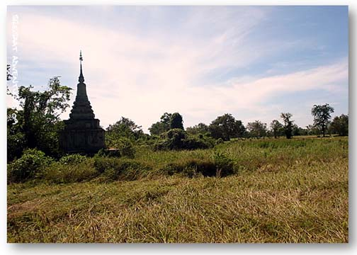 stupa from nowhere