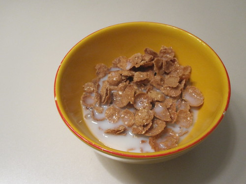 Cereal at home