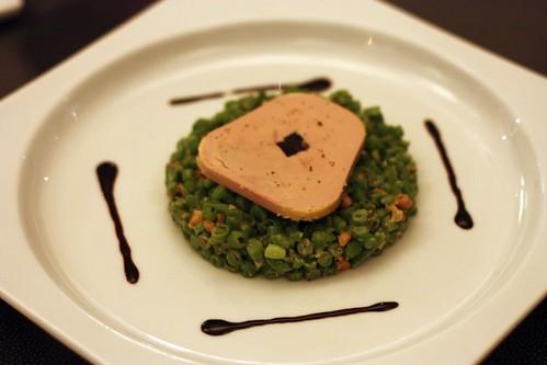 Foie Gras Salad - Haricots verts, toasted walnut, truffle vinaigrette