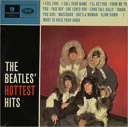 BEATLES - HOTTEST HITS LP