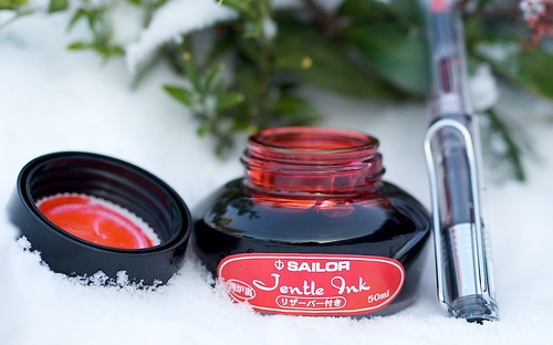 Sailor Jentl Ink Irore Red