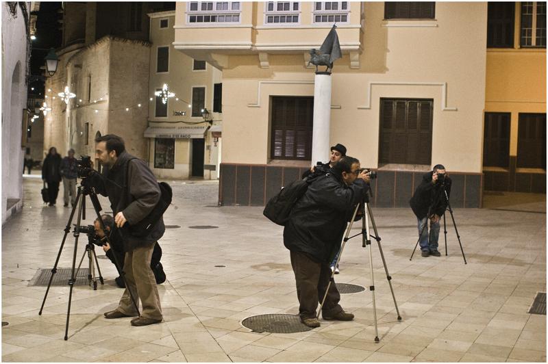 Fotogràfs invadint Ciutadella